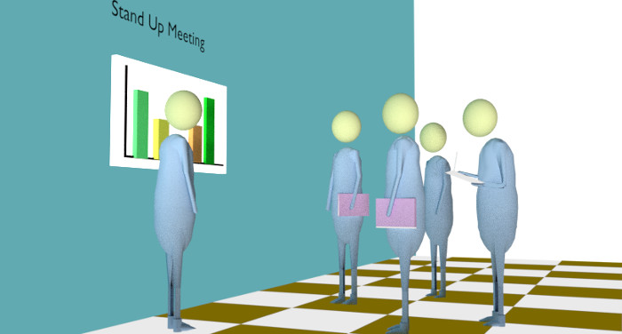 5 Psychological Benefits by Daily Stand Up Meetings!